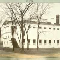 Linnaean hall, east side, courtesy of the Adams County Historical Society.