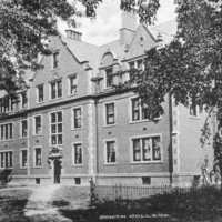 McKnight Hall, originally called South College, courtesy of the Adams County Historical Society.