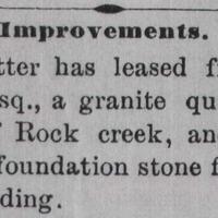 Star & Sentinel,February 28, 1888.
