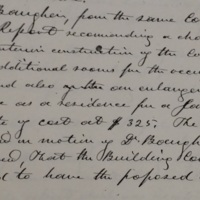 College Board of Trustees Minutes, 1860.