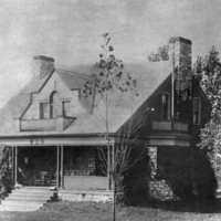 Phi Delta Theta house, courtesy of the Adams County Historical Society.